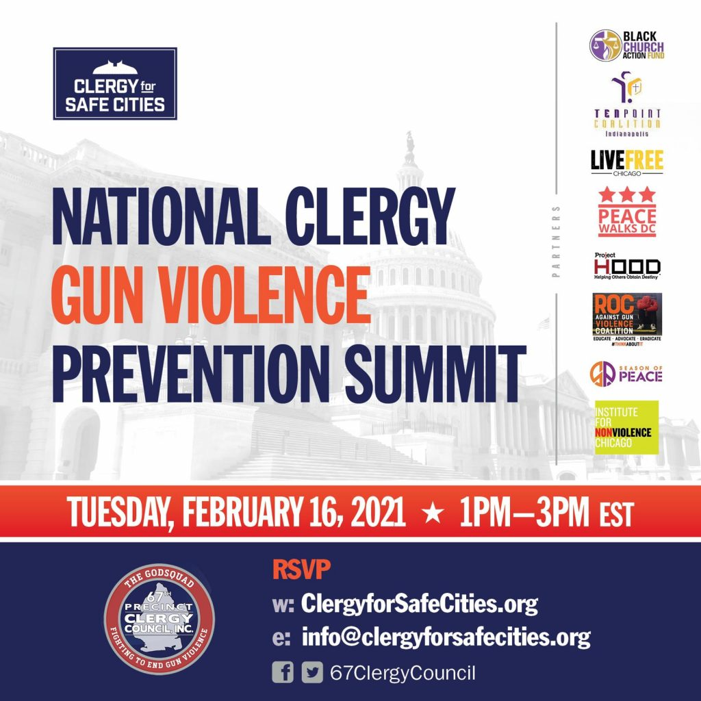 Mayor de Blasio Delivers Remarks at the National Clergy Gun Violence Prevention Summit
